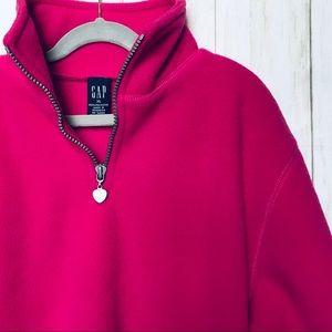 Gap fleece 1/4 zip pullover size 16